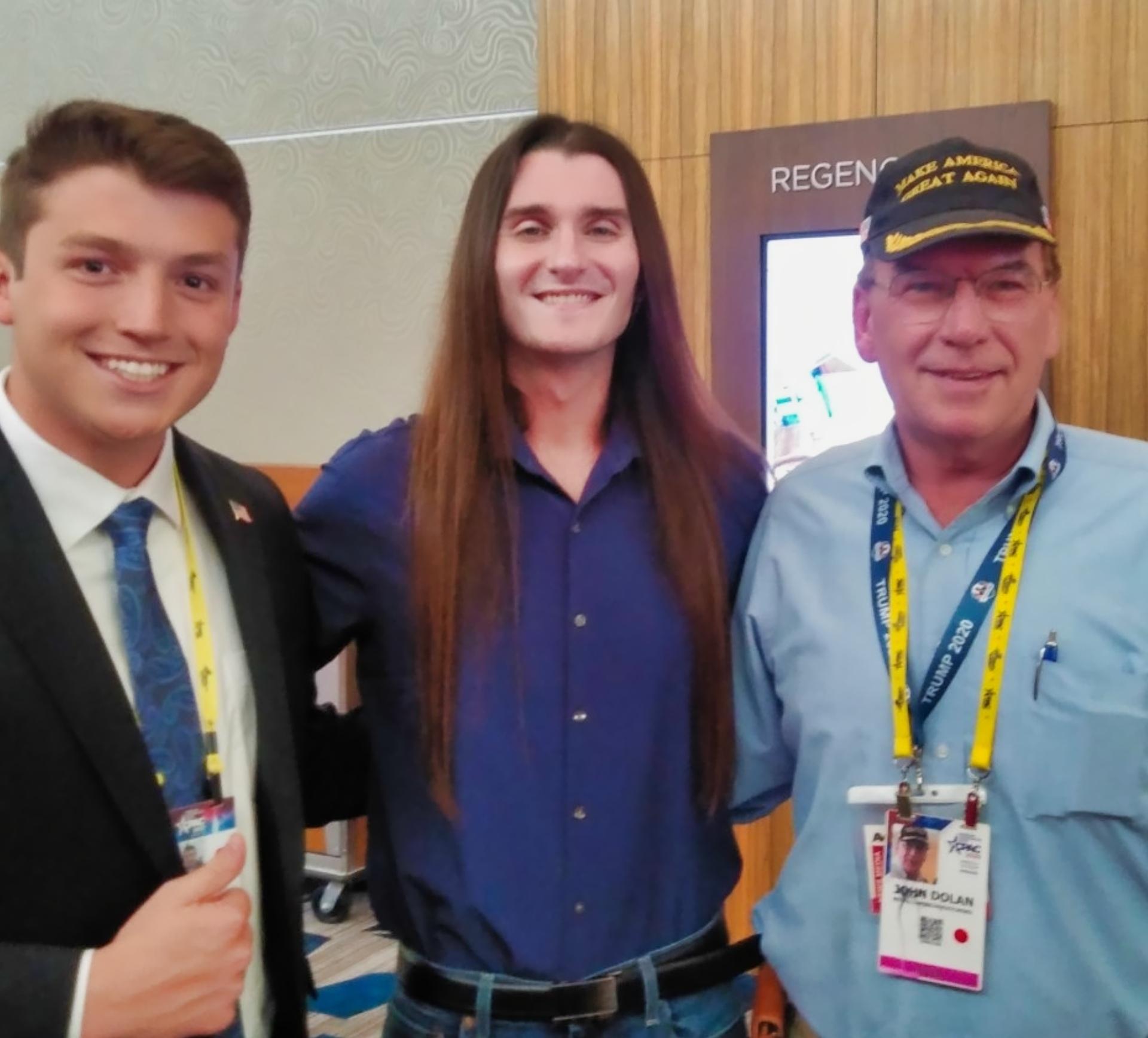 JJ Flash   CPAC 2021   Trump Train News Media