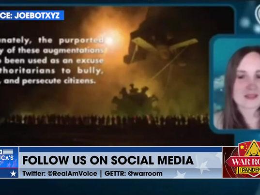 BOMBSHELL WARNING: Trojan Horse andTranshumanists  VIDEO