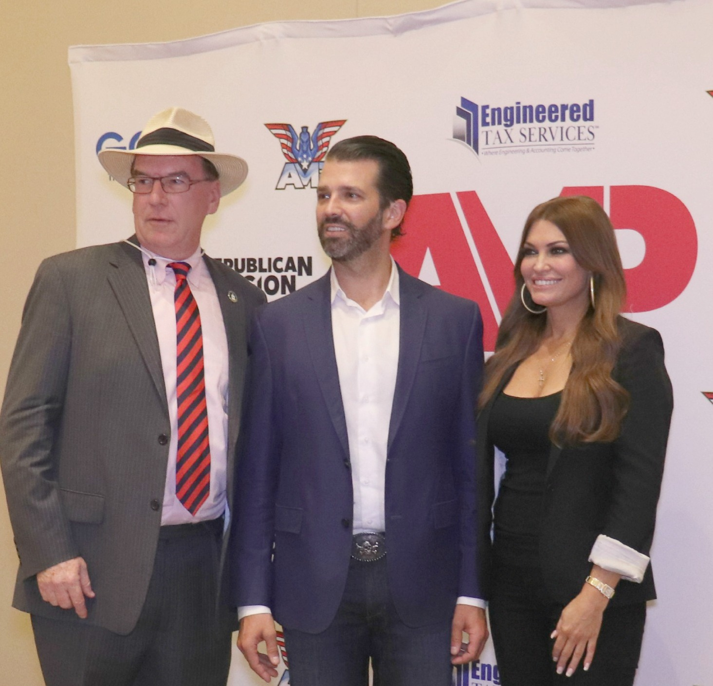 JJ Flash Don Jr Kimberly Guilfoyle