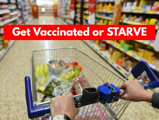 VAX or STARVE: Hesse Germany Allows Grocery Stores to BAN Unvaccinated   Is America Next?