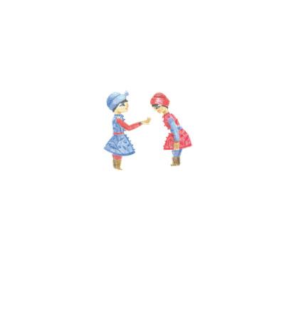 Deux petits êtres