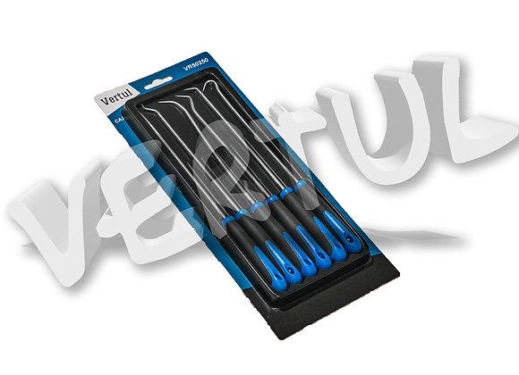 Набор крючков для демонтажа сальников и уплотнителей 6пр. vertul VR50250
