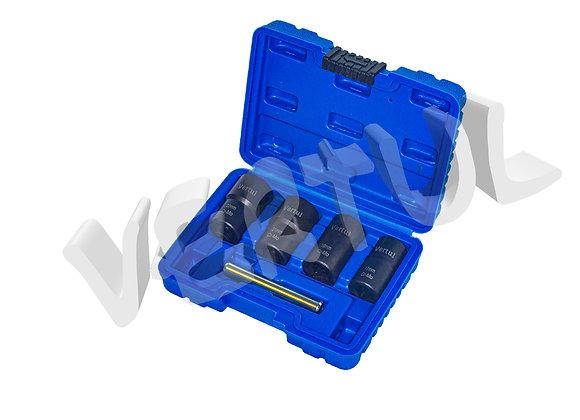Набор головок для поврежденных болтов и гаек 5 пр. Vertul VR50927
