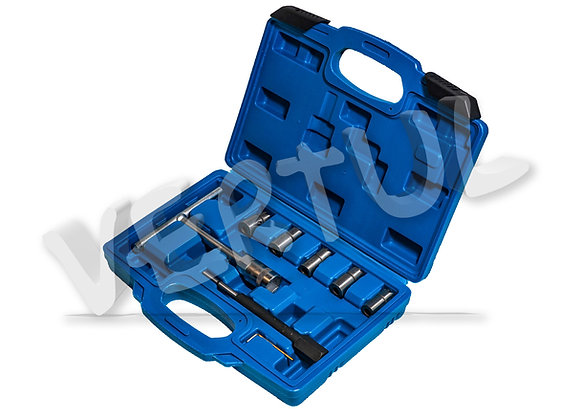 Набор фрез для восстановления гнёзд дизельных форсунок 7пр. Vertul VR50337