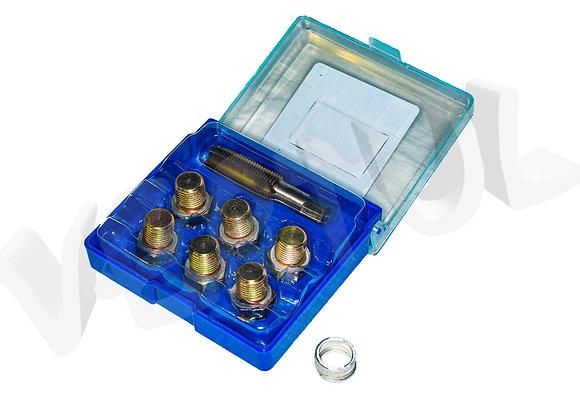 Набор для восстановления резьбы маслосливных отверстий M13 x 1,5 Vertul