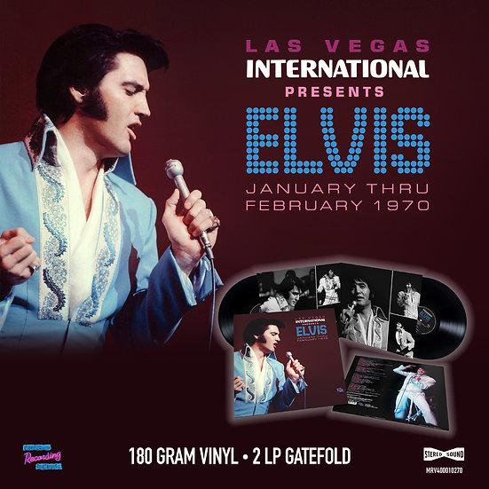 LAS VEGAS INTERNATIONAL PRESENTS ELVIS – JANUARY THRU FEBRUARY 1970