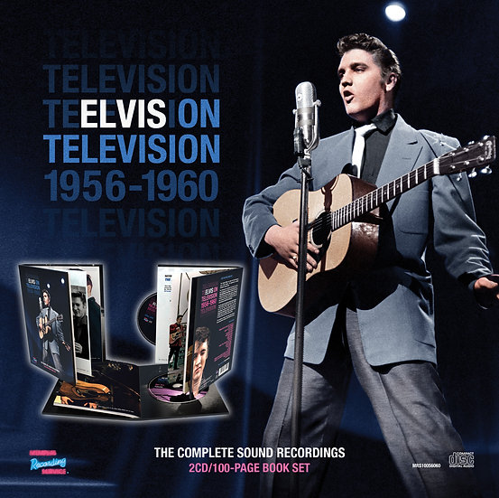 ELVIS ON TELEVISION 1956-1960 - THE COMPLETE SOUND RECORDINGS