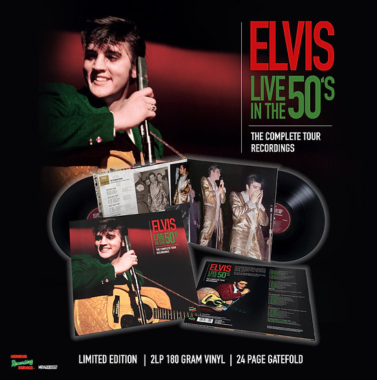 ELVIS LIVE IN THE 50's: THE COMPLETE TOUR RECORDINGS