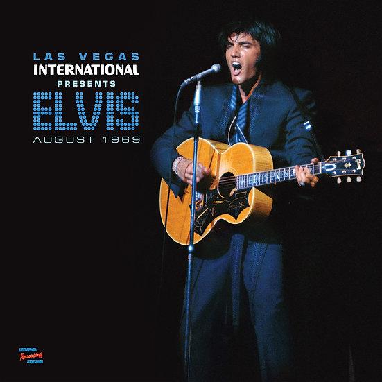 LAS VEGAS INTERNATIONAL PRESENTS ELVIS – AUGUST 1969