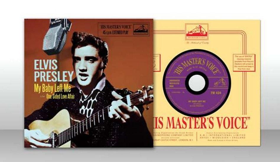 MRS/HMV UK - ELVIS CD SINGLE – MY BABY LEFT ME