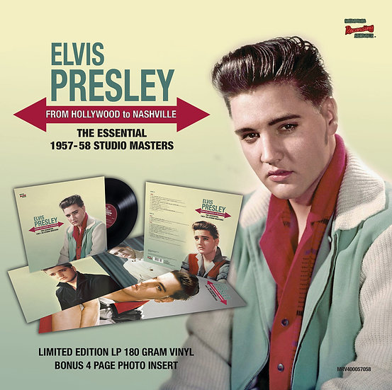 (BLACK VINYL) FROM HOLLYWOOD TO NASHVILLE - THE ESSENTIAL 1957-58 STUDIO MASTERS