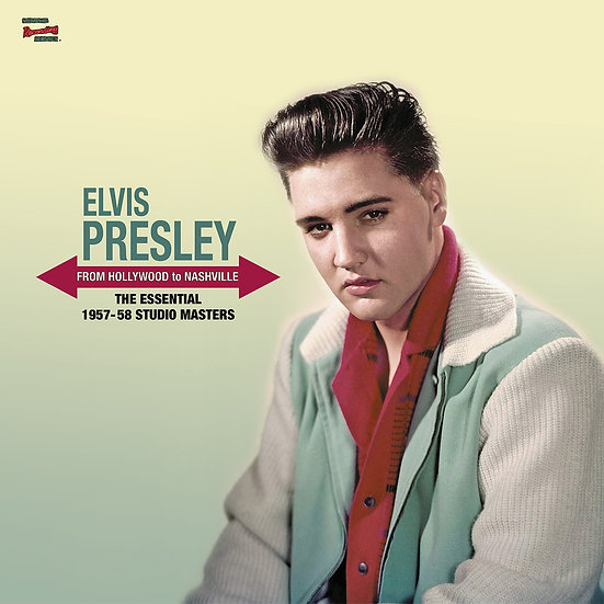 (CLEAR VINYL) FROM HOLLYWOOD TO NASHVILLE - THE ESSENTIAL 1957-58 STUDIO