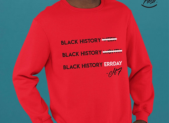 Errday Crewneck (Red Out)