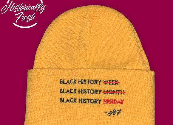 Black History Errday Beanies