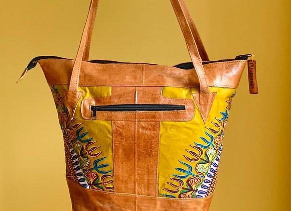Sjiek Leather Bag Package - olive Green