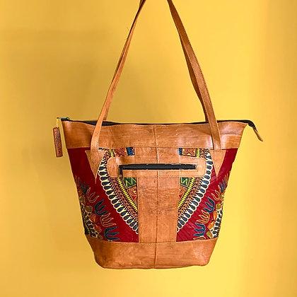 Sjiek Leather Bag Package - wine Red