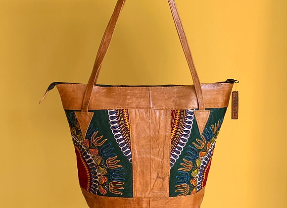Sjiek Leather Bag Package - deep Green