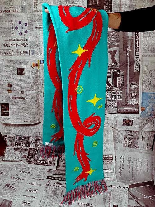 'Fire dragon' scarf