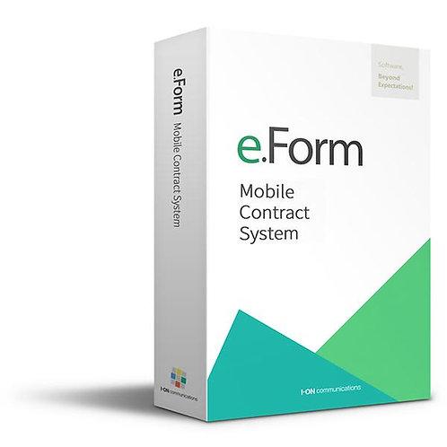 Electronic signature and electronic document management service, eForm