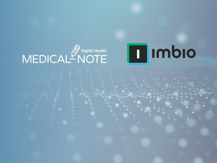 MEDICAL-NOTE announces the Partnership with Imbio