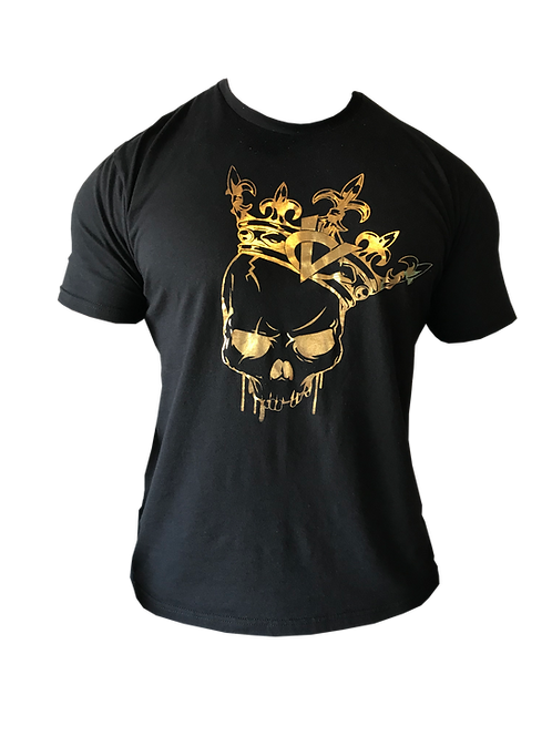 Crowned Victory Skull Gold Foil