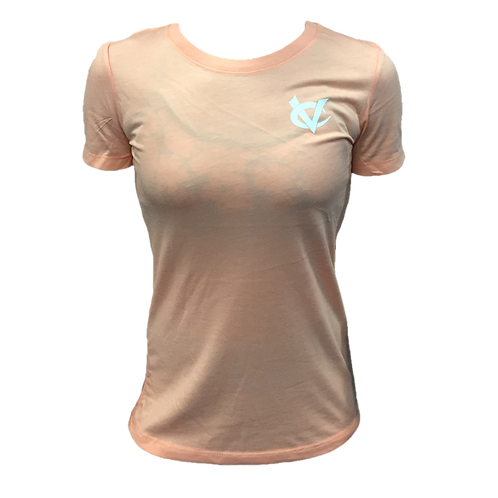 Peach Athletic Tee