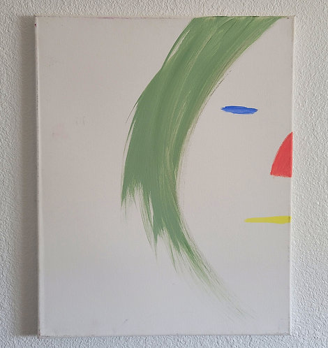 Sold! Face on the Wall (16 x 20in)