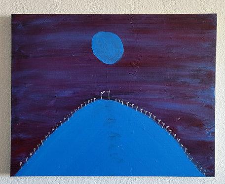 Blue night (16 x 20in)