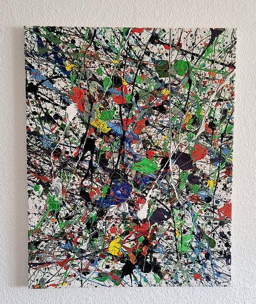 Splatter Painting #1 (16 x 20in)