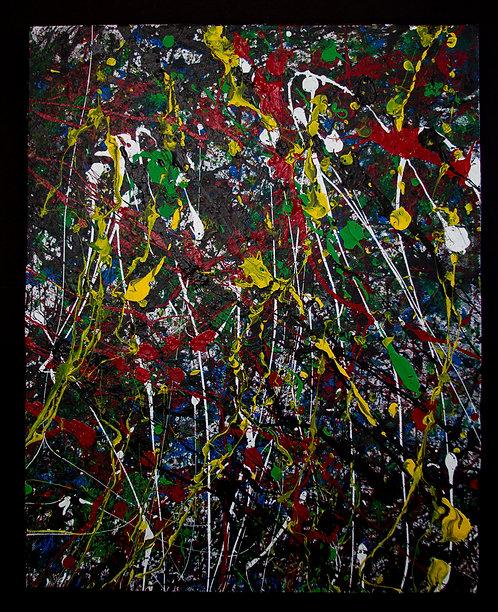 Splatter Painting #3 (16 x 20in)