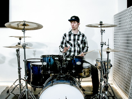 Extra spaces in the drum course!