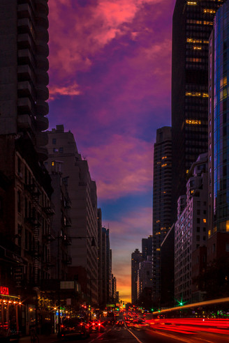 2ND AVE SUNSET