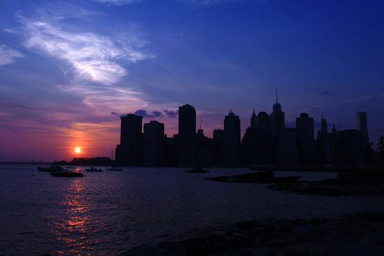 LOWER MANHATTAN SUNSET