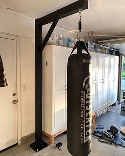Punching Bag Stand (Single Arm)