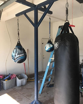 Punching Bag Stand (4 Arms)