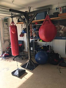 Punching Bag Stand (Triple Arm)