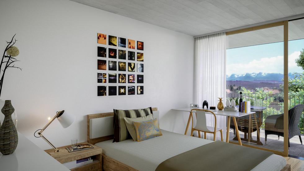 Schlafzimmer (MFH)