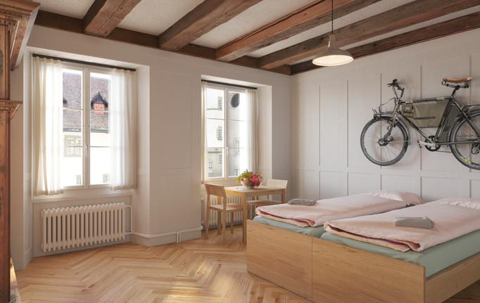 2-Bett Zimmer im Schloss - Burgdorf