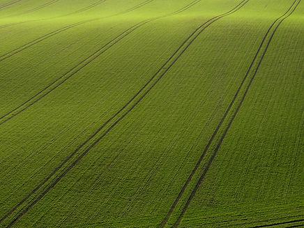 Arial vista di Green Field
