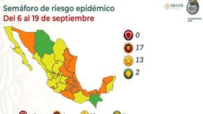 【赤信号の州はゼロに】9月6日からの経済活動再開信号情報と9月3日の感染状況