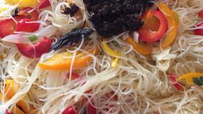 メキシコで買える食材で出来る献立レシピ⑥:アジア麺をメキシコで!フルーツが美味しいメキシコだからこそ試してほしいフルーツティー🥭他