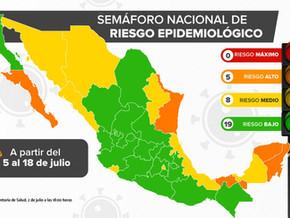 【速報:7月5日からの信号情報】:コロナウイルス関連ニュースと7月2日の感染状況