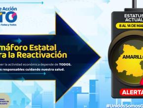 3月5日更新:グアナファト州の経済活動の再開信号は黄色信号に
