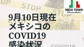 【新規感染者数はやや減少か】9月10日の感染状況