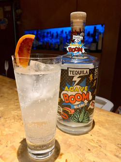 BOOM Highball with blood orange