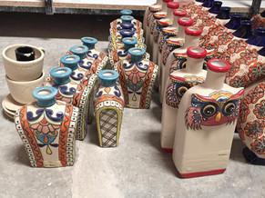 陶器の工房を訪ねて:Dolores HidalgoのTashi