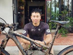 Ciclista emprendedor global  Embajador de la carrera ciclista GFNY, YOH YAMADA