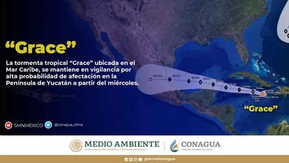 【メキシコニュース】ハリケーンGraceがカリブ海沖に発生。メキシコへの影響を解説