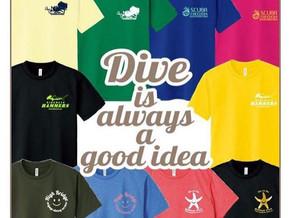【お知らせ】Scuba Freedom 様より期間限定Tシャツ企画のご案内