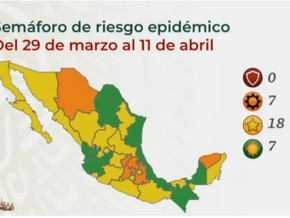3月26日更新:ハリスコ州が緑信号に:メキシコの死者数20万人を突破